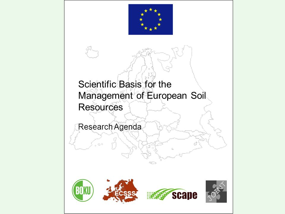 Scientific Basis for the Management of European Soil Resources