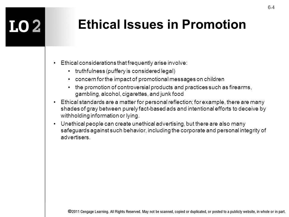 Ethical Issues in Marketing to Children