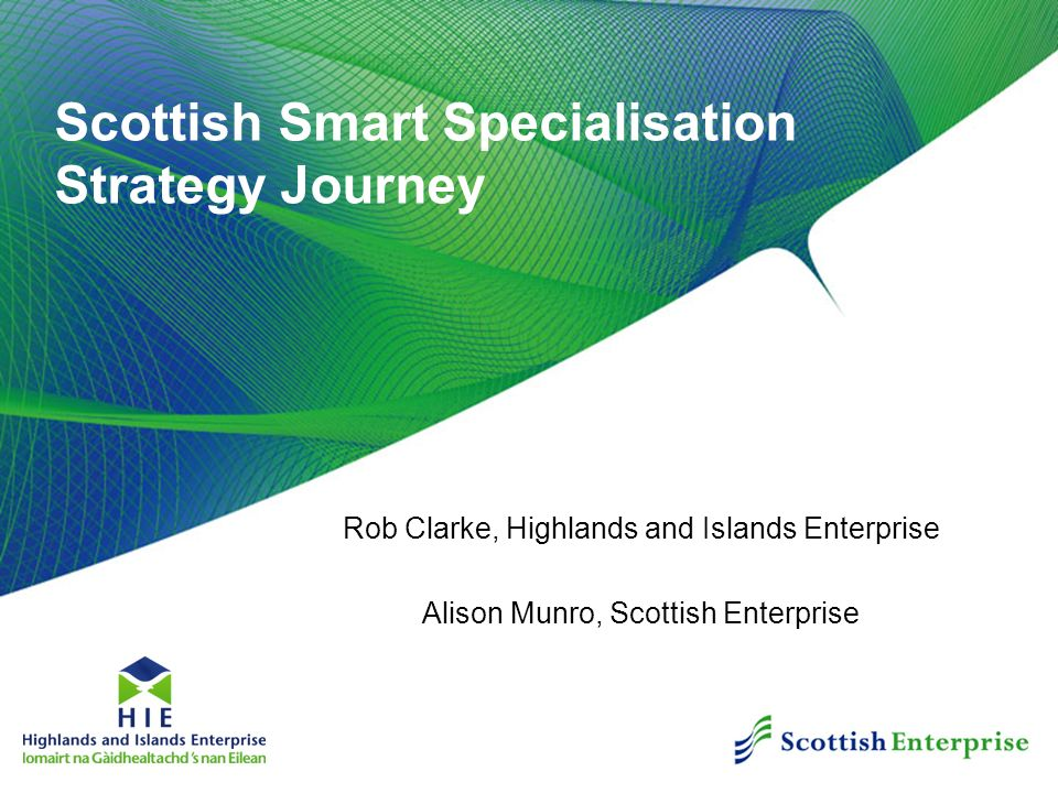 Scottish Smart Specialisation Strategy Journey