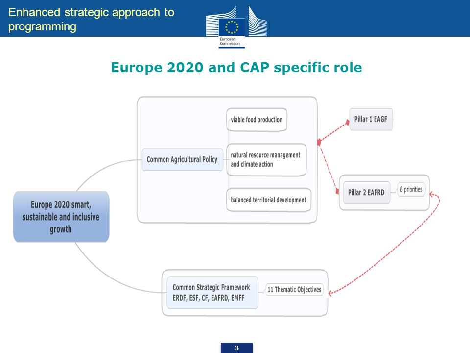 Europe 2020 and CAP specific role