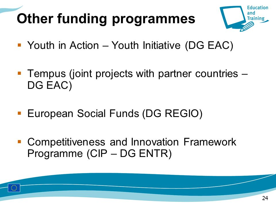 Other funding programmes