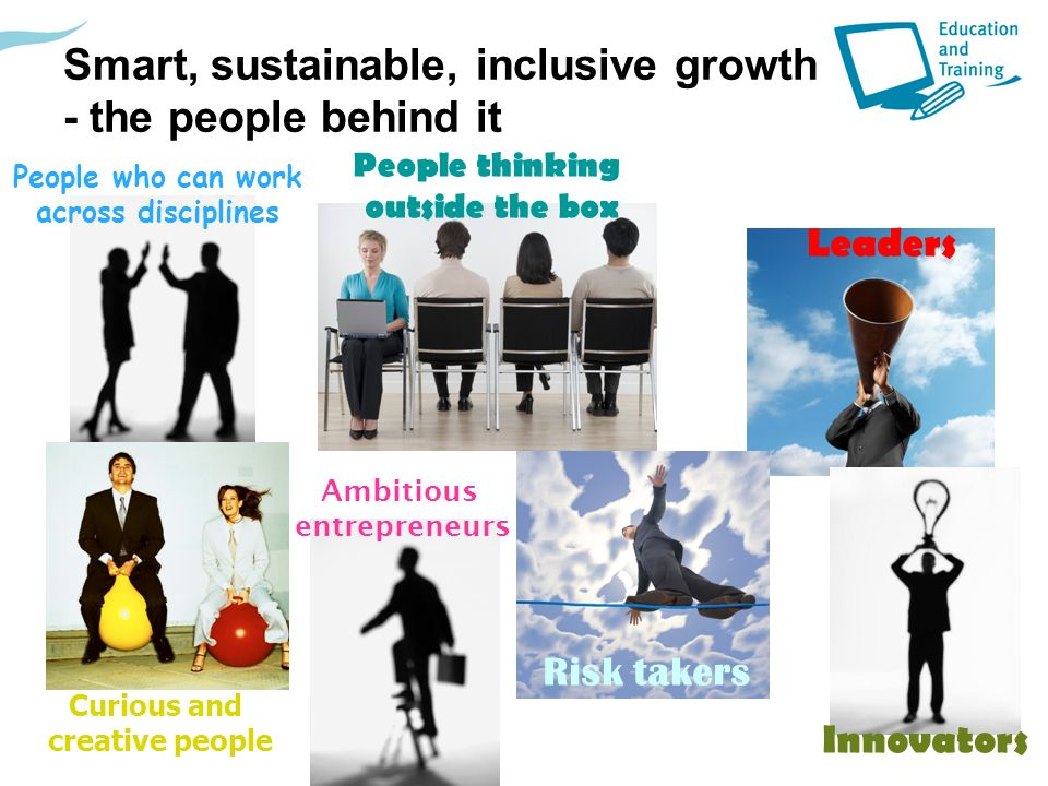 Smart, sustainable, inclusive growth - the people behind it
