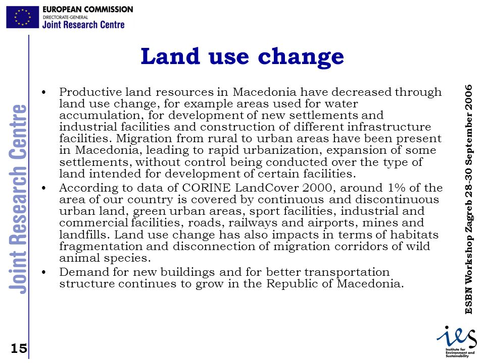 Land use change