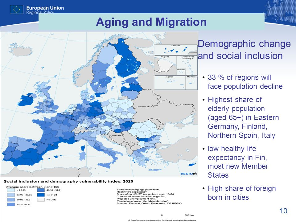 Demographic change and social inclusion