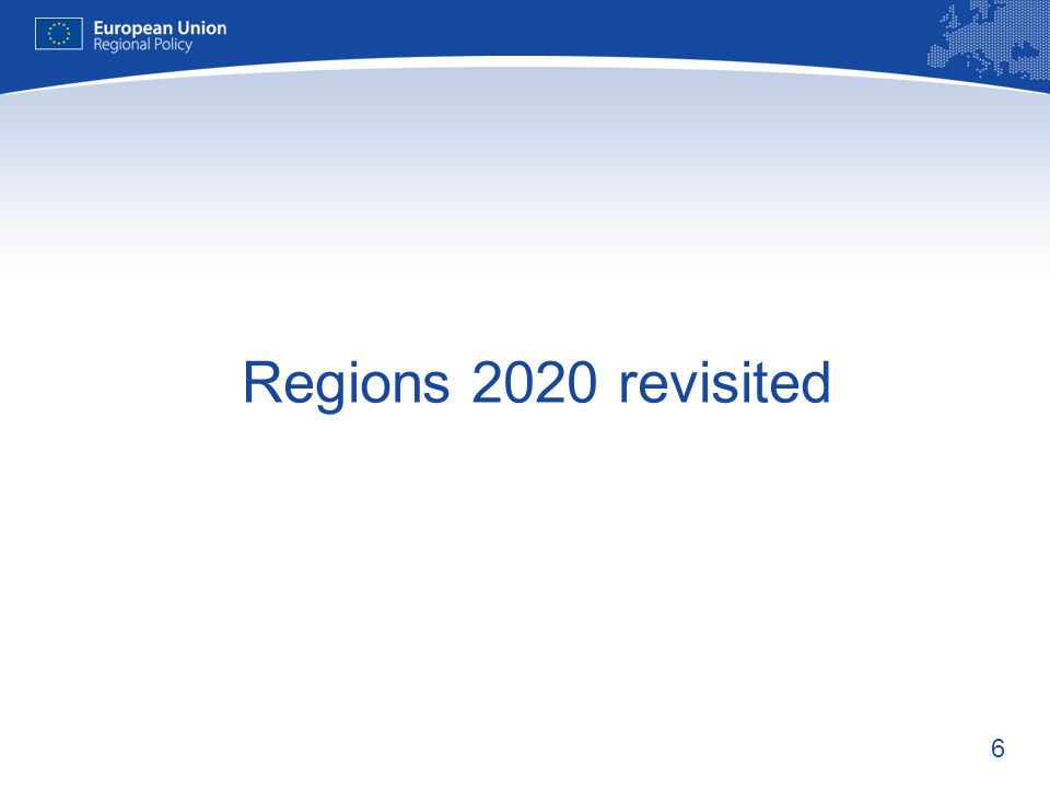 Regions 2020 revisited