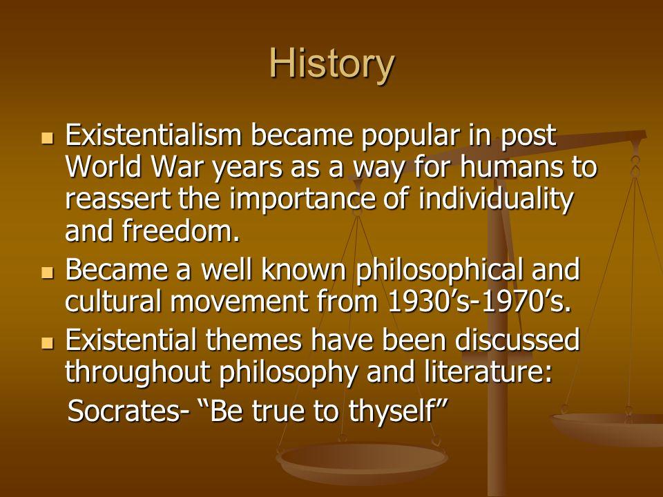 Existentialism philosophy
