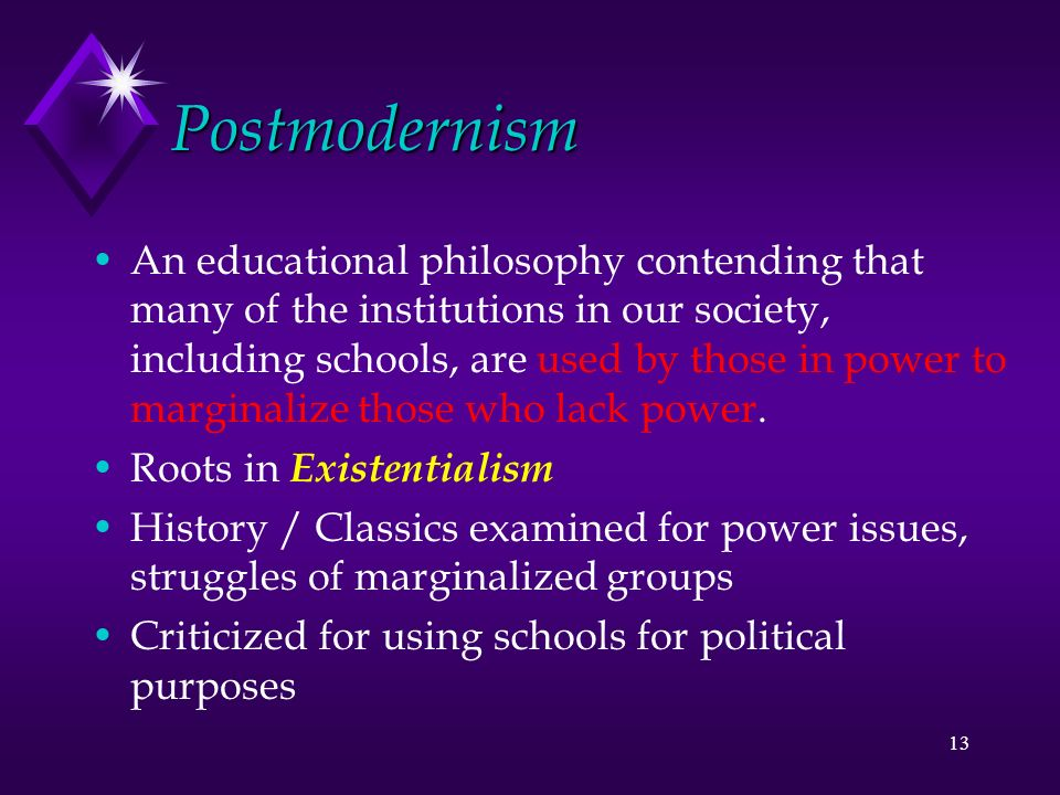 existentialism and postmodernism essay I once asked a group of my students if they knew what the term postmodernism meant: explainer: what is postmodernism in his 1982 essay postmodernism and.