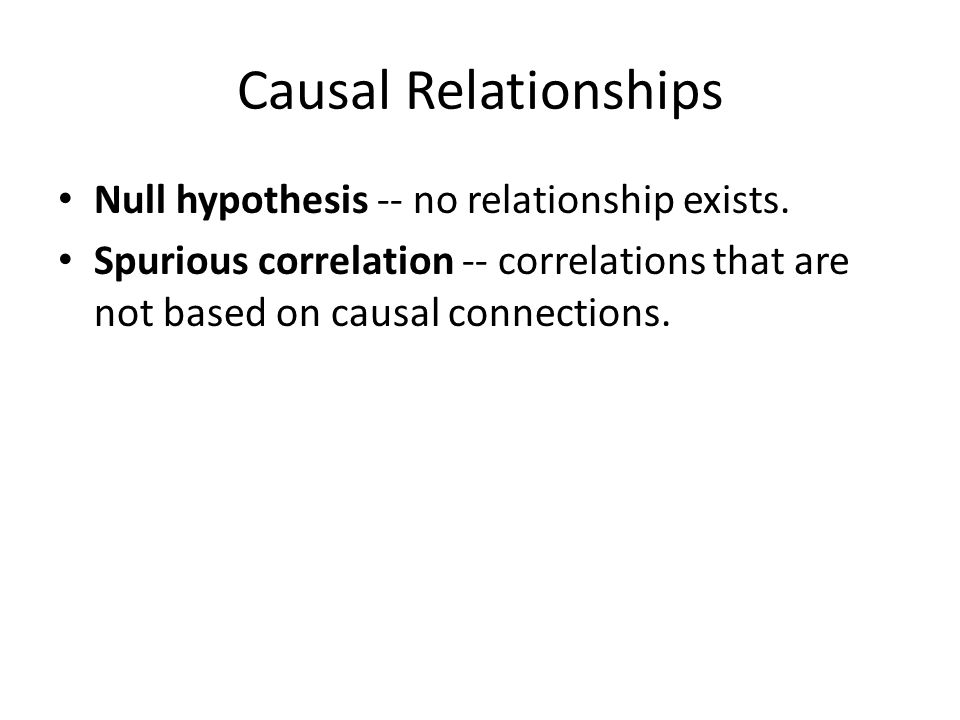causal relationship in research definition