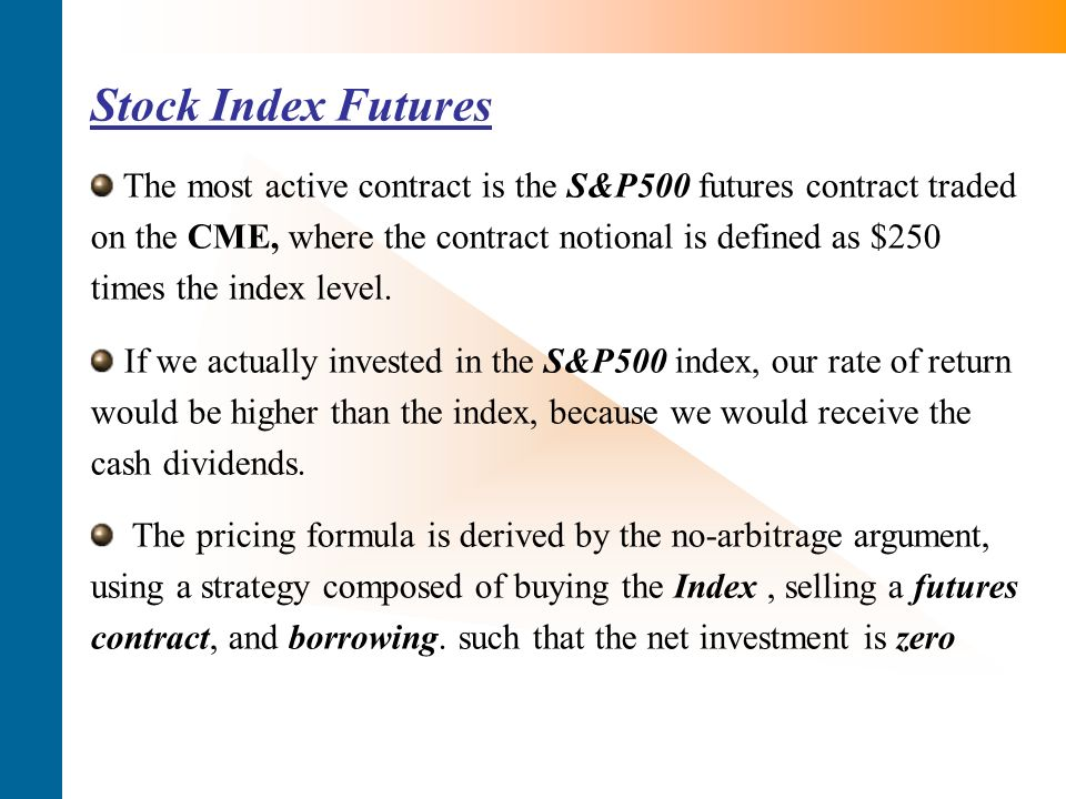 Index futures quotes