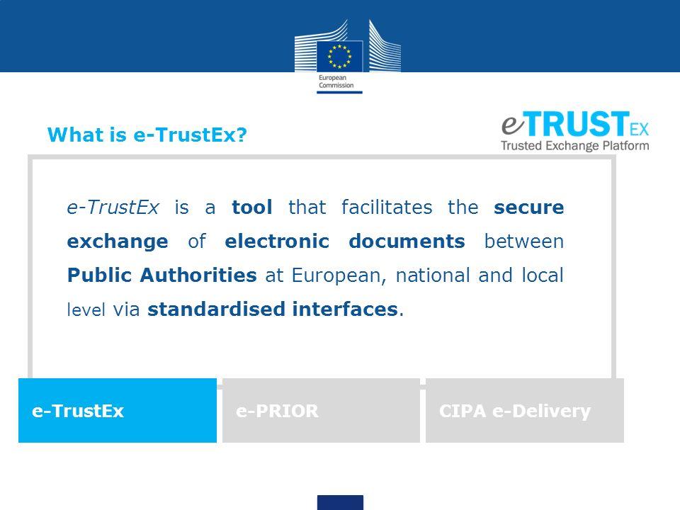 What is e-TrustEx