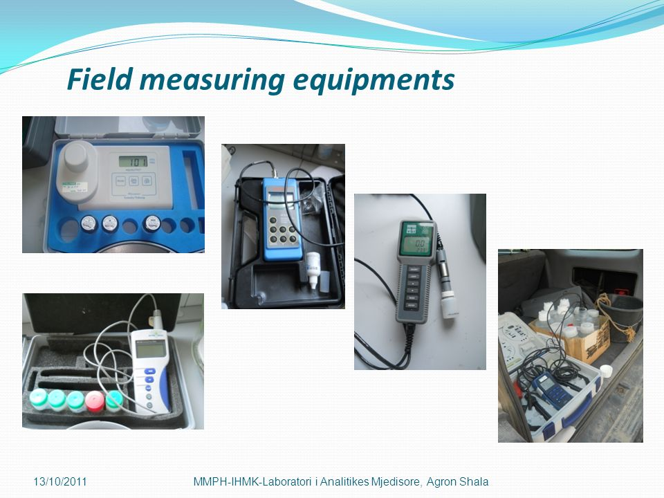 Field measuring equipments