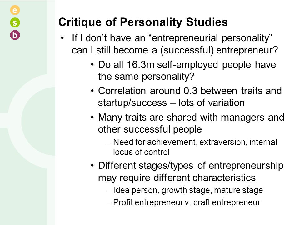 personality critique Learn what people think of you highly accurate scientifically developed personality test with big five traits no signup or email required based upon the neo-pi inventory, see your big five traits.