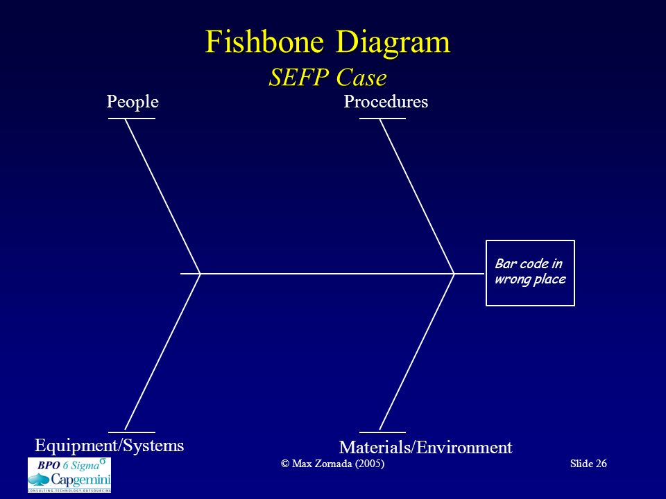 An overview of the dmaic process at work ppt download fishbone diagram sefp case ccuart Choice Image