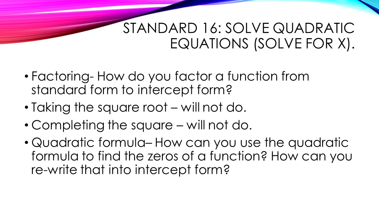 Quadratic equations and their applications ppt video online download 8 standard falaconquin