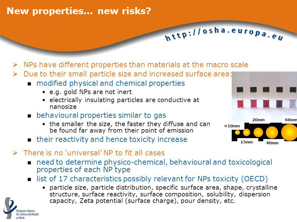 New properties… new risks
