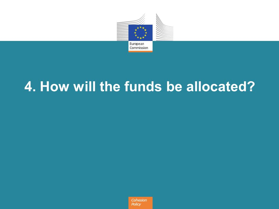4. How will the funds be allocated