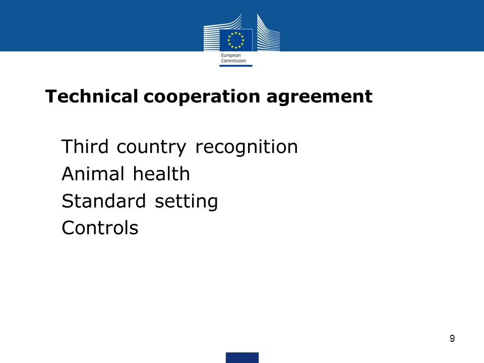 Technical cooperation agreement