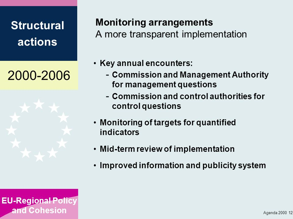 Monitoring arrangements A more transparent implementation