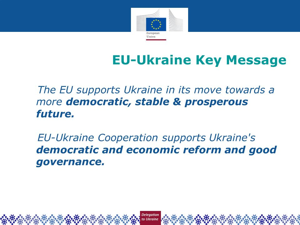 EU-Ukraine Key Message