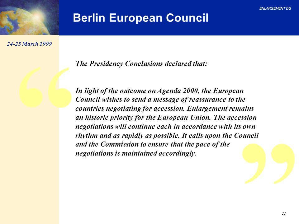 Berlin European Council