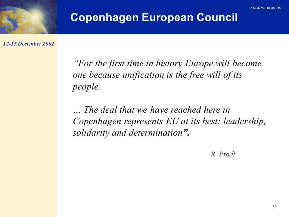 Copenhagen European Council