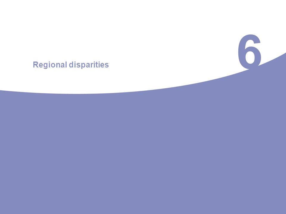 6 Regional disparities