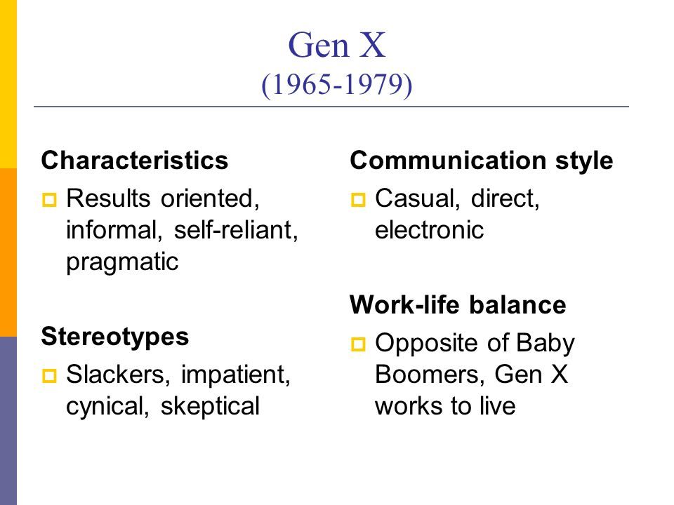 baby boomers generation y misconceptions The case against the baby boomers the entire baby-boom generation better than the average growth so far in the working years of generations x and y.