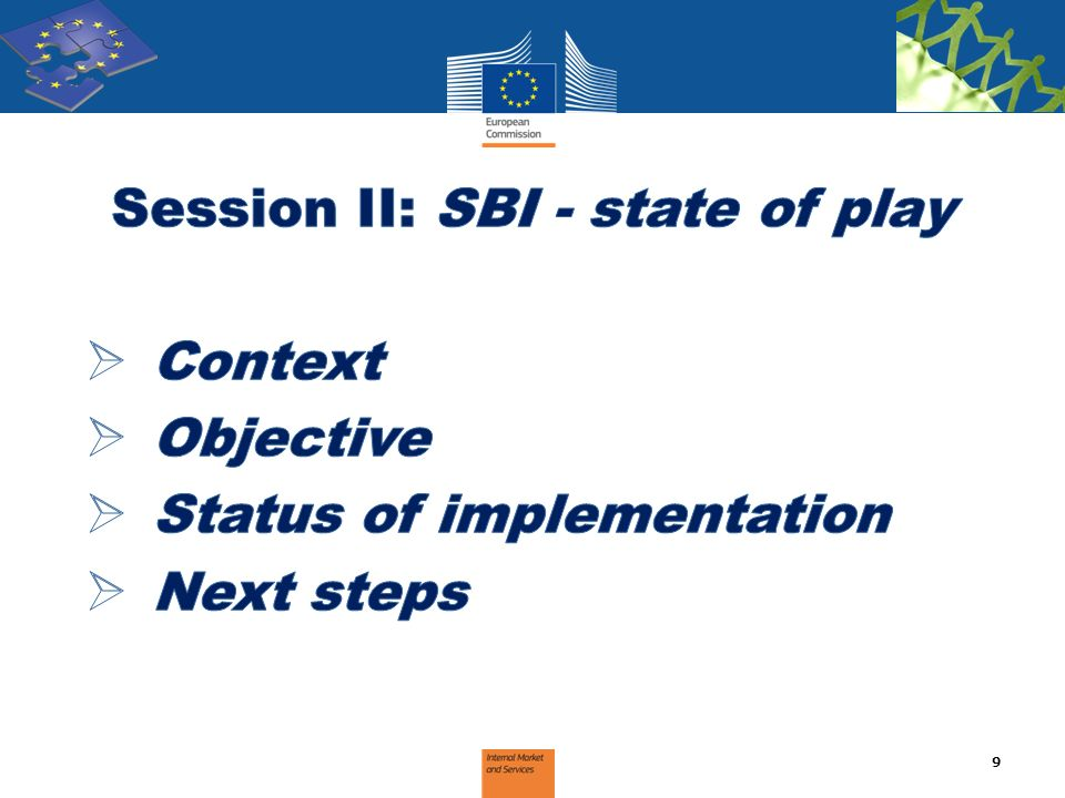 Session II: SBI - state of play