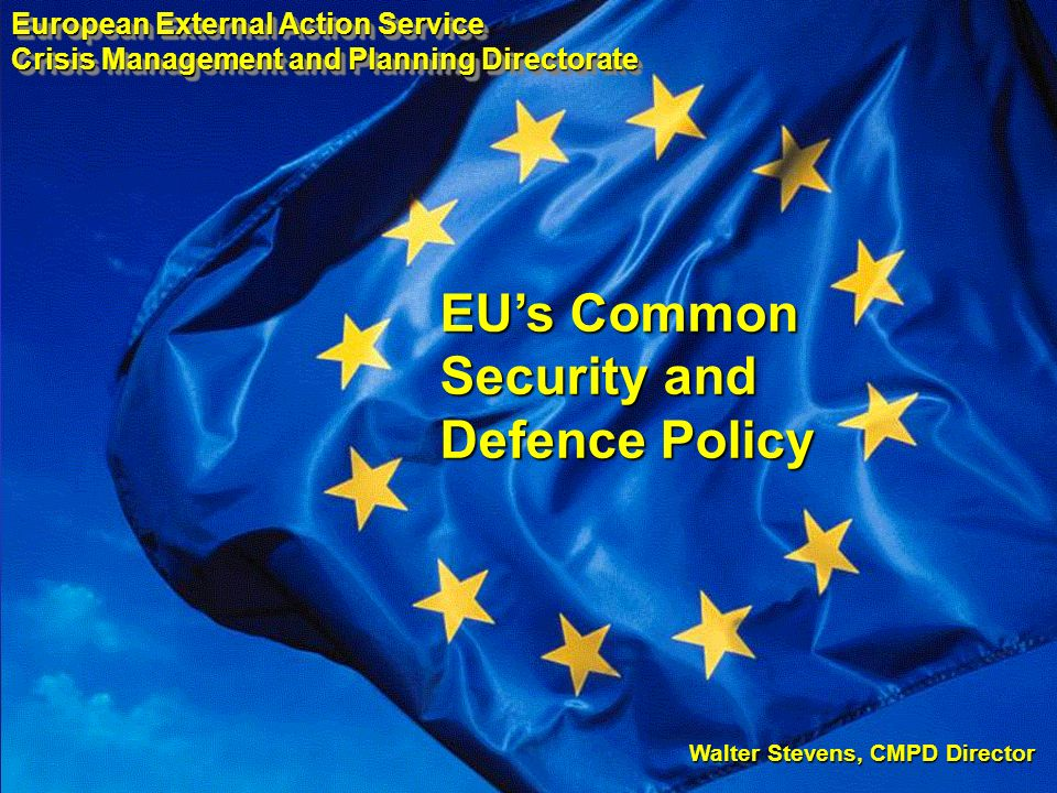 EU's Common Security and Defence Policy