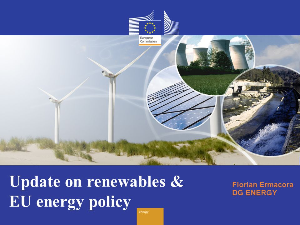 Update on renewables & EU energy policy