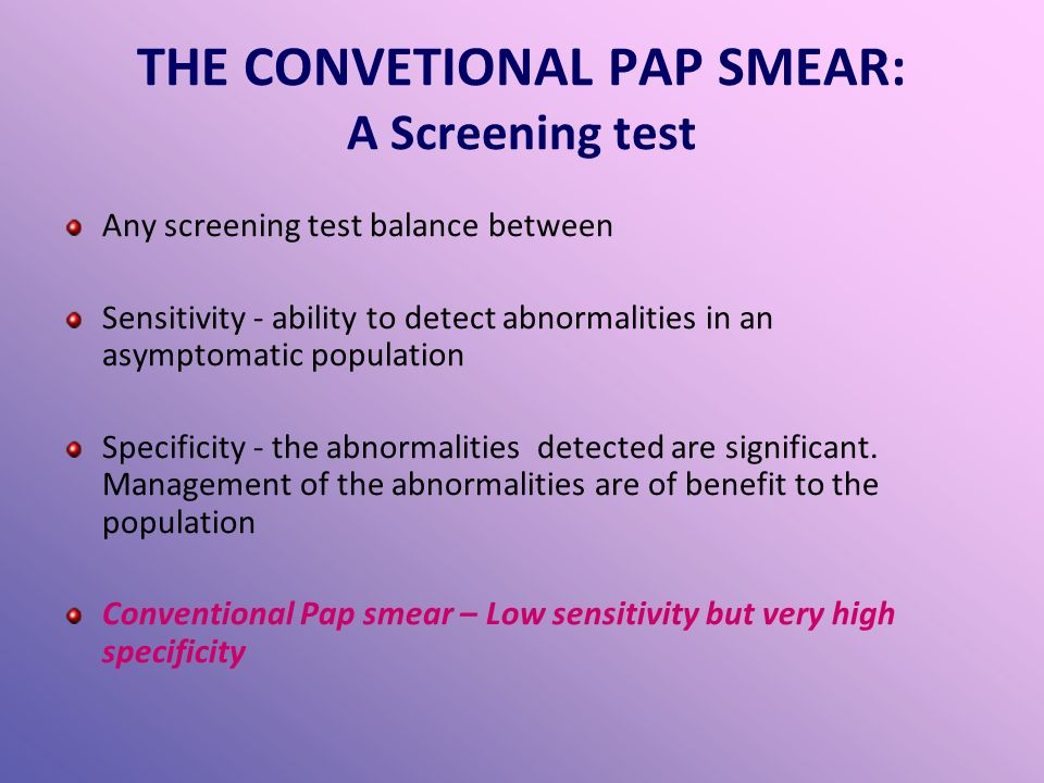 australian pap smear screening guidelines
