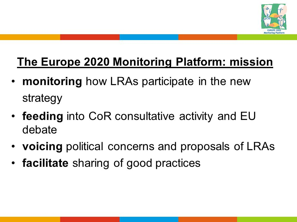 The Europe 2020 Monitoring Platform: mission
