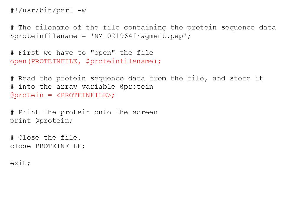 how to open and read data files with perl