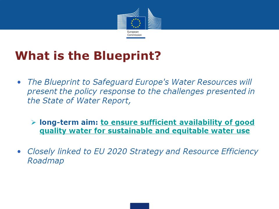 What is the Blueprint