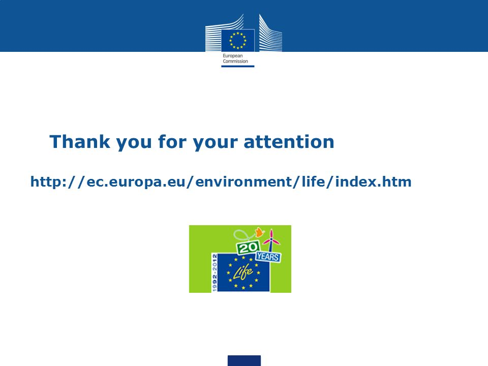 Thank you for your attention http://ec. europa