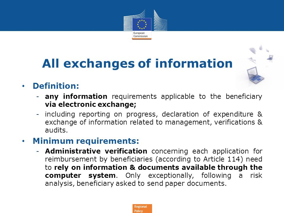 All exchanges of information