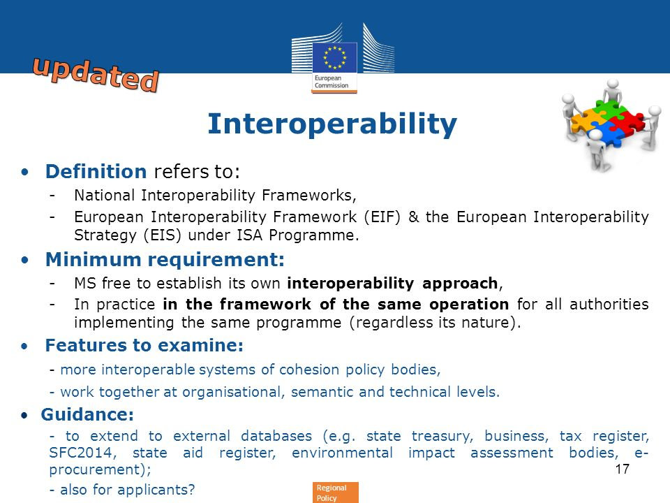 updated Interoperability