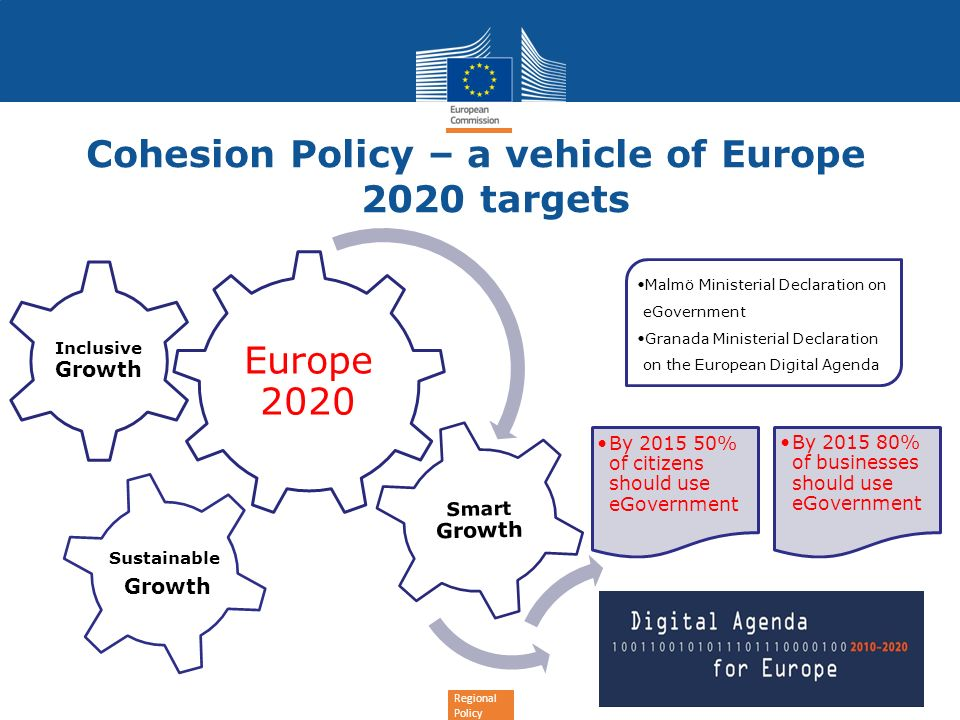 Cohesion Policy – a vehicle of Europe 2020 targets