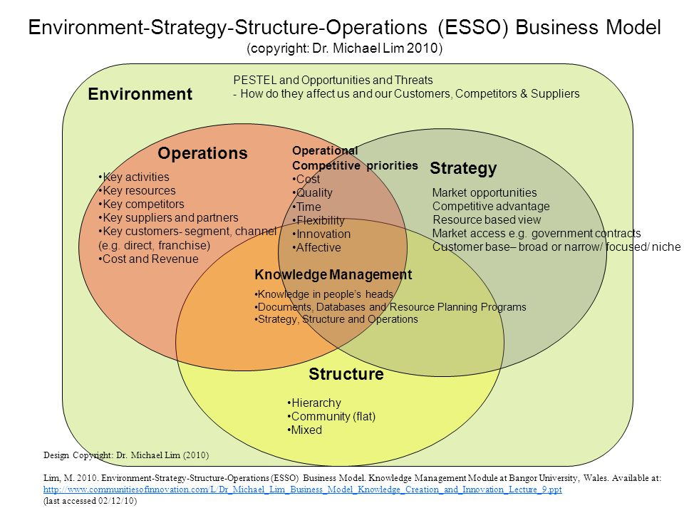 business plan operational strategy definition