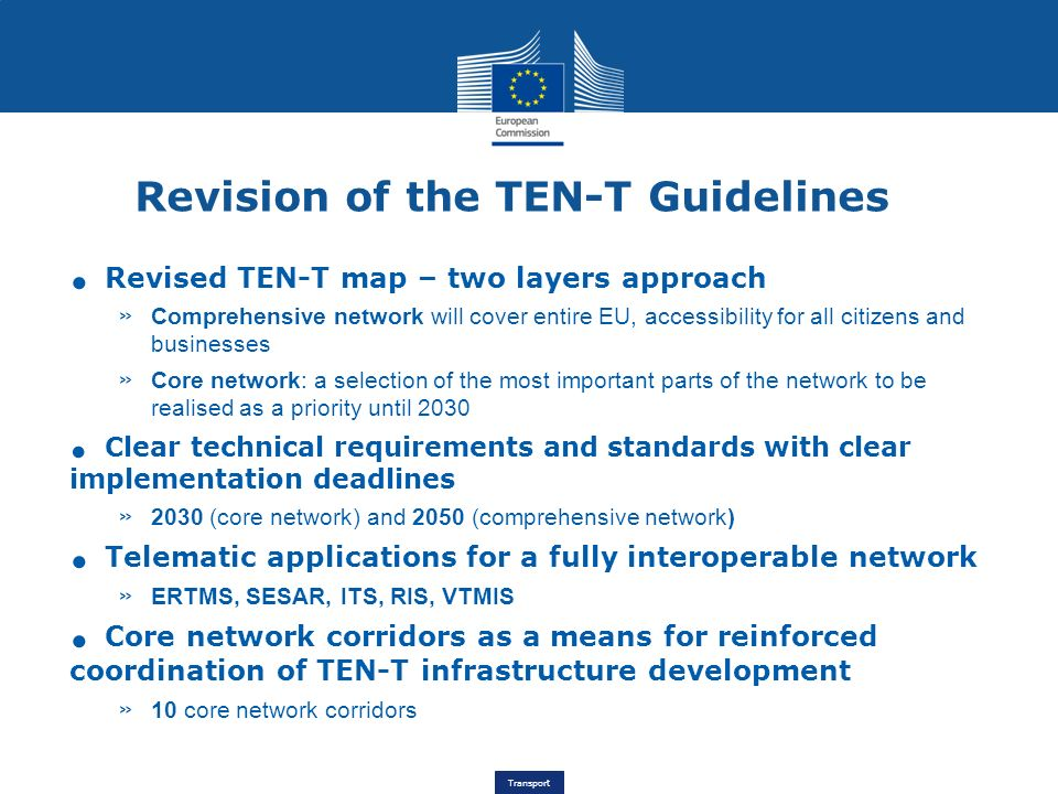 Revision of the TEN-T Guidelines