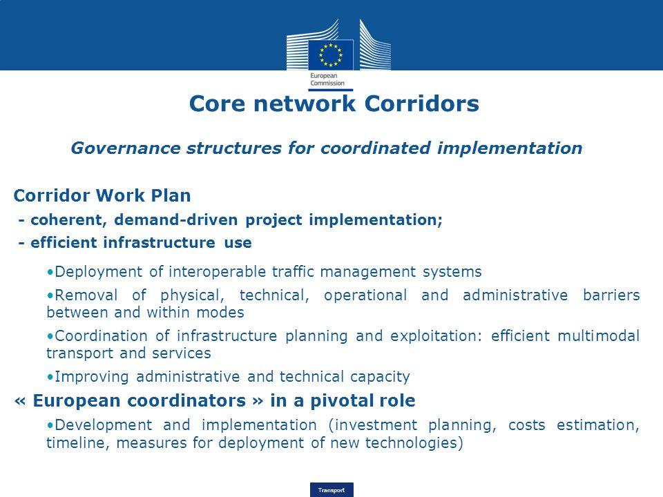 Core network Corridors