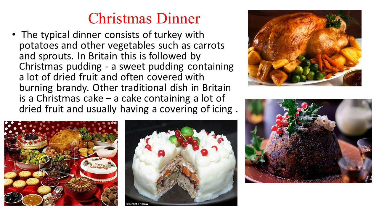 Christmas in ukraine england and usa ppt download christmas dinner sciox Image collections