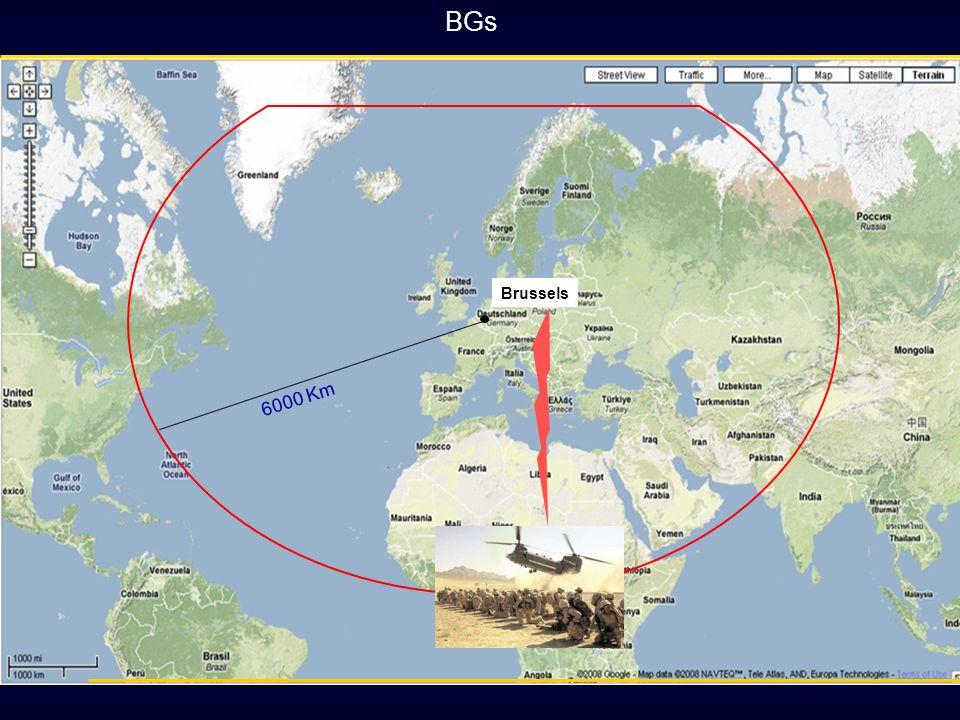 BGs Brussels. 6000 Km.