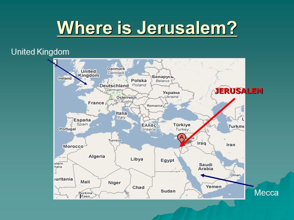 Jerusalem As A Place Of Pilgrimage Ppt Video Online Download - Where is jerusalem