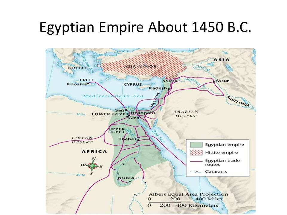 Ancient Civilization Egypt Ppt Download - Map of egypt in 1450 bc