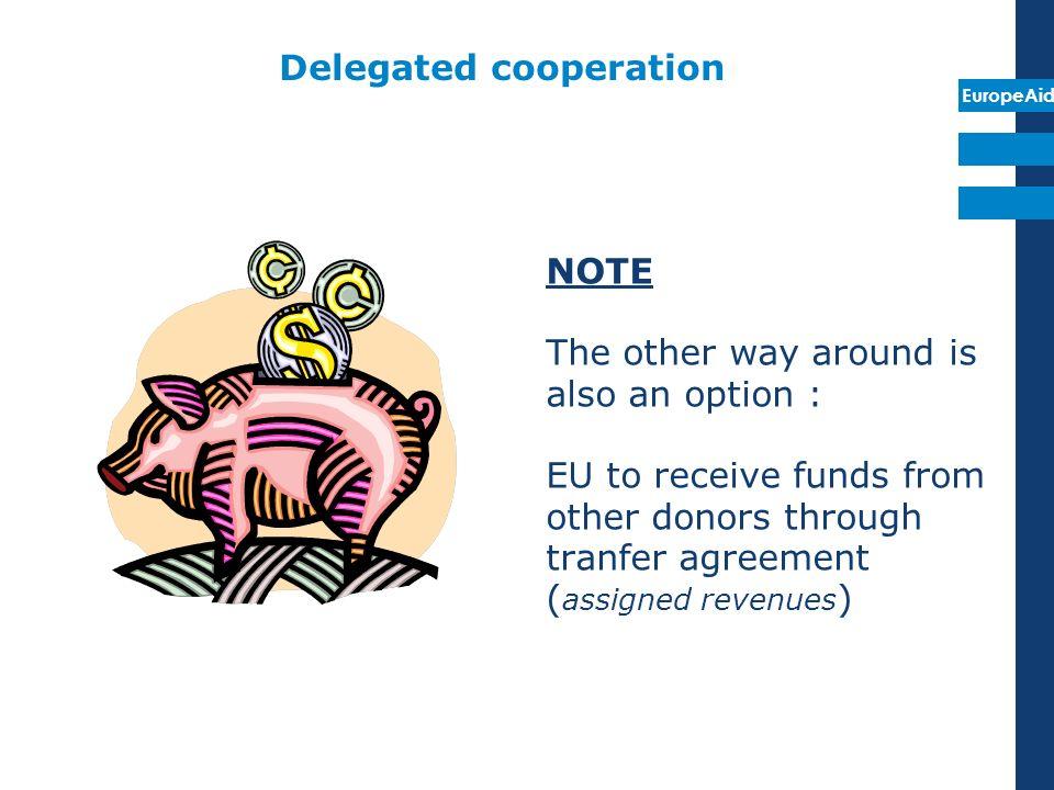 Delegated cooperation