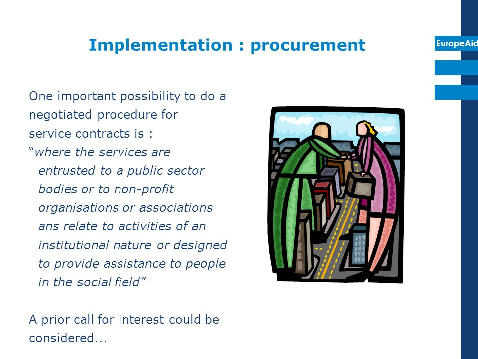 Implementation : procurement