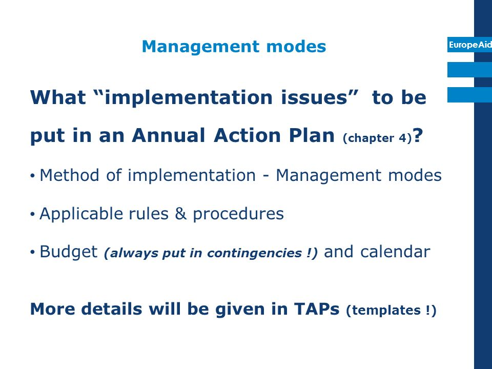 What implementation issues to be