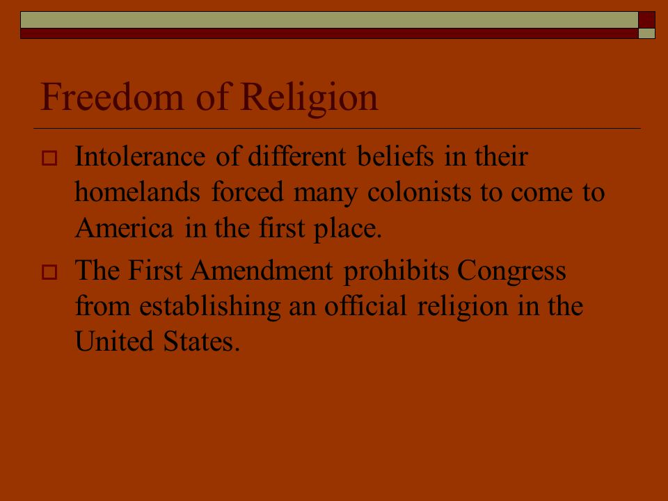 The United States Constitution and Christianity