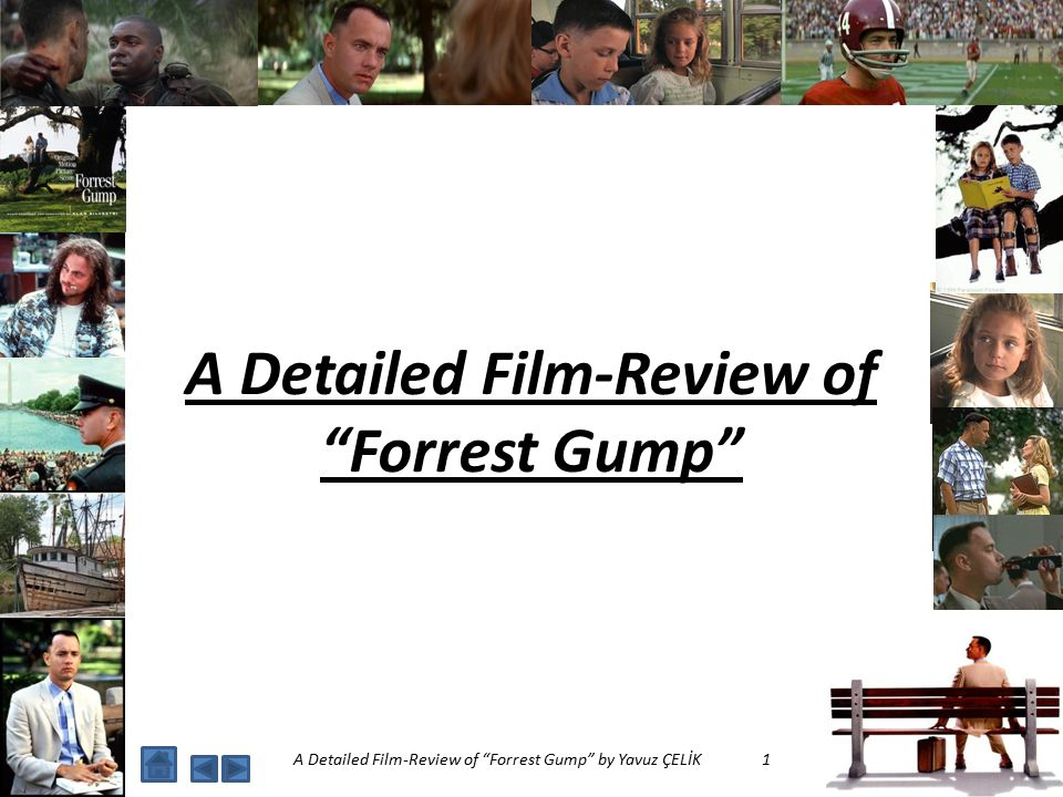 forrest gump film review It could be said that forrest gump is the definitive american movie after all, it's historical, patriotic and it's got a dunce as the hero a loving and friendly dunce, of course, played by.